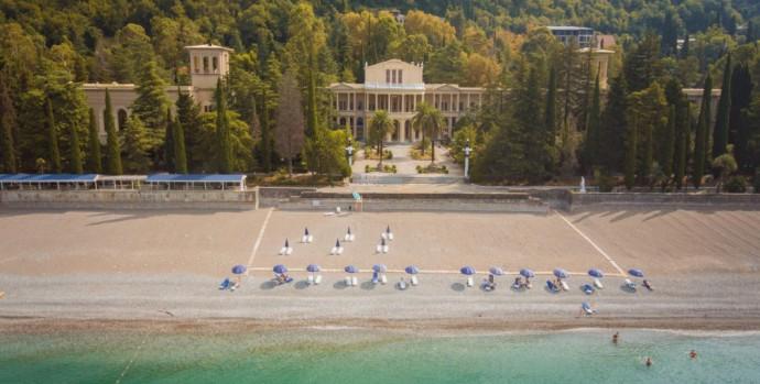 Амра отель вид с моря
